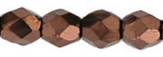 Firepolish 3mm 4415  Dark Bronze 100 Stück