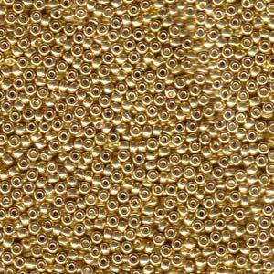 Seed Beads Miyuki  1052 Gal.Gold 15/0 05gr.