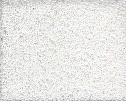 Seed Bead Miyuki  0420 White Pearl Ceylon  15/0  05gr.