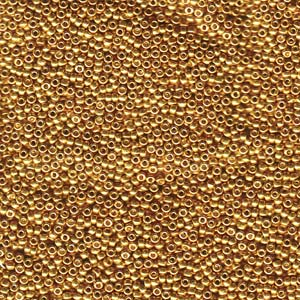 Seed Beads Miyuki  1053 Galv Yellow  Gold  15/0  05gr.