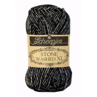 Scheepjes Stone Washed XL 0843 -Black Onyx