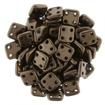 CzechMates QuadraTile 14415 6mm Dark Bronze