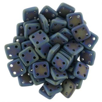 CzechMates Bar 21135 2x6mm Matte Iris Blue 10gr.