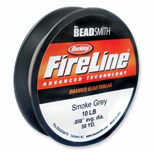 Fireline Thread 06 LB Crystal Clear 1Spule  110m 120YRD