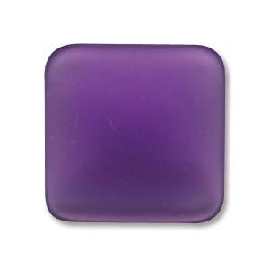 Luna-Soft Cabochone 17mm Grape Square  1Stück