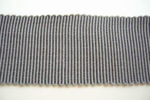 Ripsband -  2,5 cm breit - Slategray  - 0.50 cm