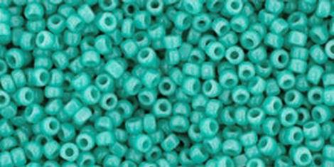 Toho Charlottes 0055 Opaque Turquoise 15/0  5gr