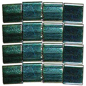 Tila-Beads-0468 Metallic Green Iris 5gr.