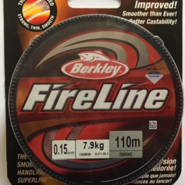 Fireline Thread 06 LB Smoky-Grey 1Spule 110 mtr.